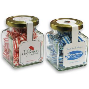 Printed Jars of Sweets for Campaign Resale
