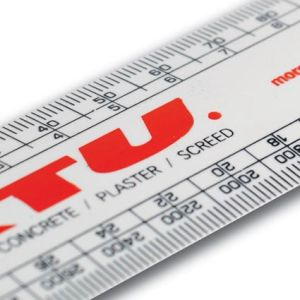 Printed scale rulers for office merchandise