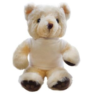 Promotional 15 Inch Chester Bear with T Shirt for marketing
