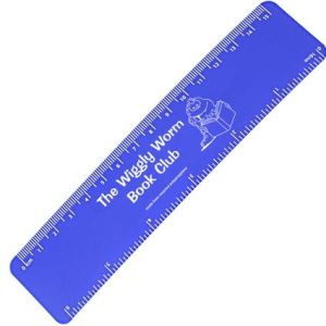 15cm Recycled Flexi Rulers in Blue