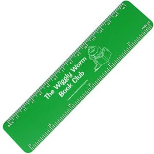 Branded rulers with company details