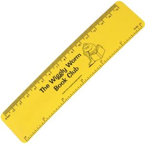 Printed rulers for school stationery
