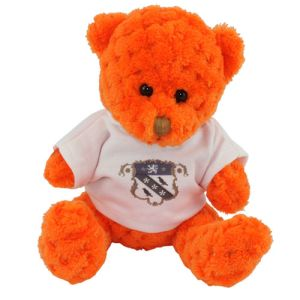 15cm Waffle Bears with T Shirts in Pumpkin