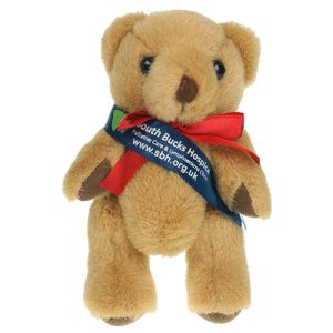 12.5cm Honey Jointed Bear in Brown