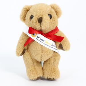 12.5cm Honey Jointed Bear