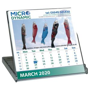 Printed Micro CD Case Calendars