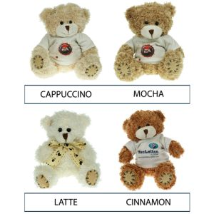Corporate printed teddies for company giveaways