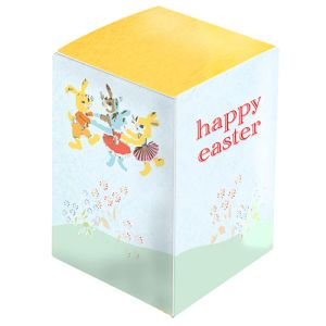 Printed Egg Shaped Chocolates for Easter Campaigns