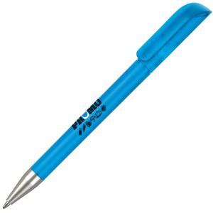 Promotional Alaska Frost Ballpen in Aqua for office merchandise
