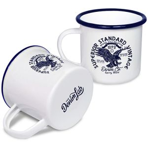 Personalised Enamel Mugs for Corporate Designs
