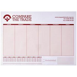 A3 Desk Pads in White