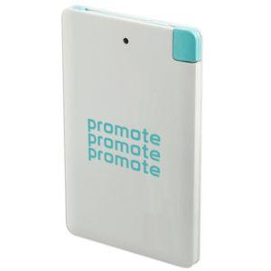 Promotional 2400mAh Card Power Banks with logos