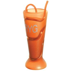 Helter Skelter Beaker in Orange