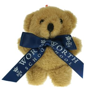 Promotional Tiny Ted Bow Bear with Printed Bow