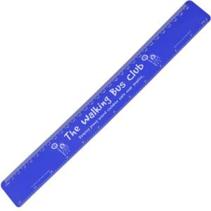 30cm Recycled Flexi Rulers in Blue