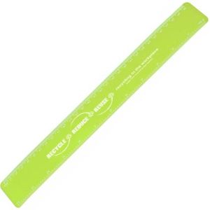 30cm Recycled Flexi Rulers in Lime