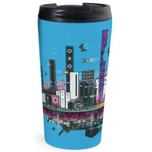 310ml Rio Full Colour Travel Mugs