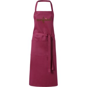 Full Length Apron in Burgundy