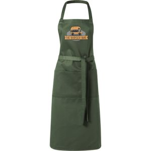 Full Length Apron in Green