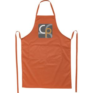 Full Length Apron in Orange