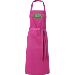 Full Length Apron in Magenta