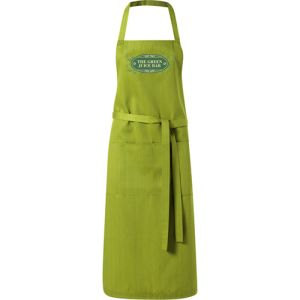 Full Length Apron in Olive Green