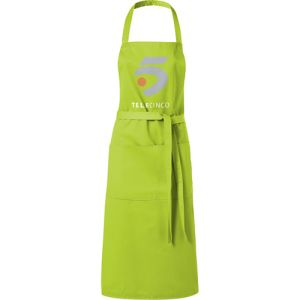 Full Length Apron in Lime