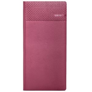 Matra Pocket Weekly Diary in Burgundy