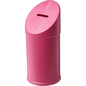 Charity Collection Box in Magenta