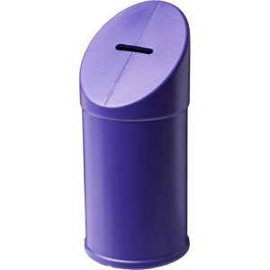 Charity Collection Box in Purple