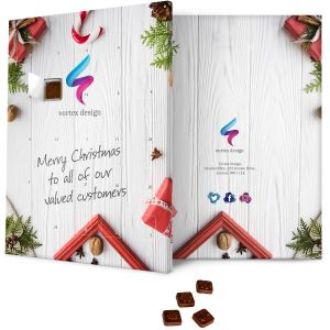 Fully Bespoke Printed Corporate Branded Advent Calendars