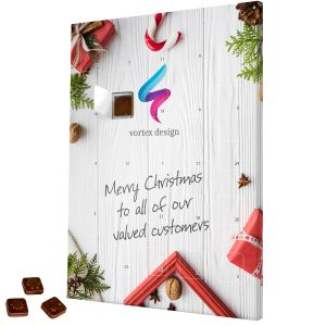 Promotional Printed Traditional Advent Calendars for Christmas Merchandise