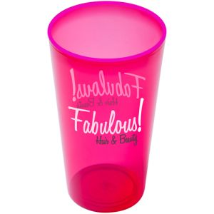Your artwork can be printed in up to 4 colours on these Arena Plastic Cups.