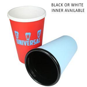 Corporate printed travel mugs with company logos