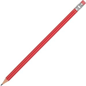 Recycled Plastic Pencils in Red