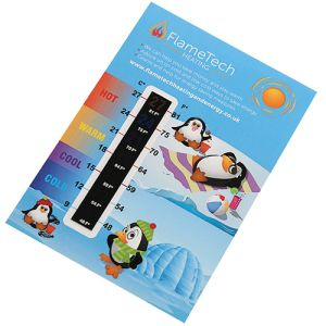 Large Temperature Gauge Cards