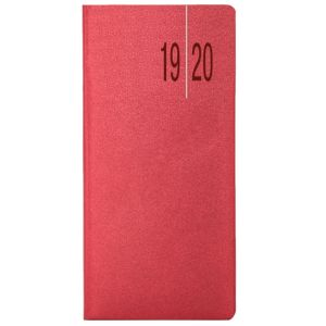 Academic Matra Weekly Pocket Diary in Ruby Red