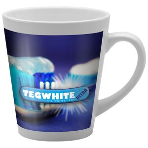 Logo Printed Deco Mugs with full colour print