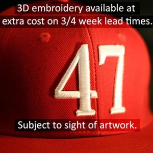Promotional hats for company giveaways 32 embroidery example