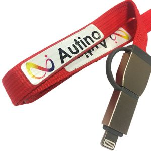 Custom Branded Charger Leads for Desktop Advertising