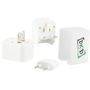 Custom travel adaptors for holiday campaigns