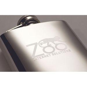 Custom engraved Flask for giveaways