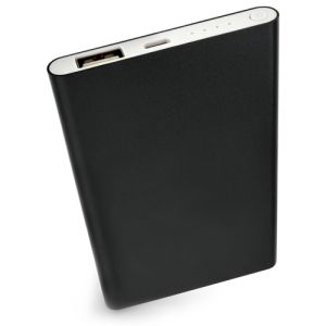 The design of these smart promotional power banks also includes integrated power LED lights.