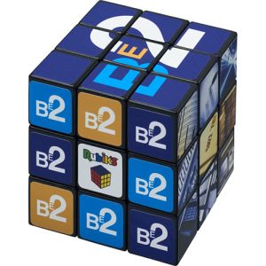 Custom printed Rubik's cube with full colour designs