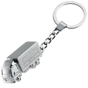 Promotional branded 3D Truck Keyring as a corporate gift
