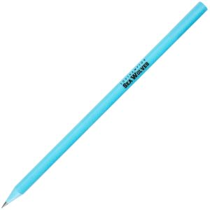 Light Blue Promotional Eco-friendly Pencils for Business