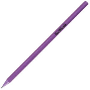 Purple Recycled Pencils for Business and Marketing