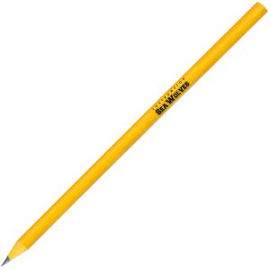 Yellow Corporate Branded Pencils Recycled Materials UK Printed
