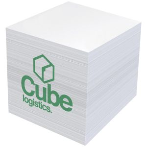 Promotional Mini Desk Note Blocks for offices printed to the sides