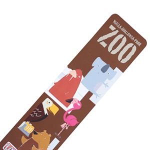 Rounded Corner Laminated Card Bookmark for reading promotions.